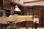 Угловая кухня из массива Tiffany 23 - фото 2