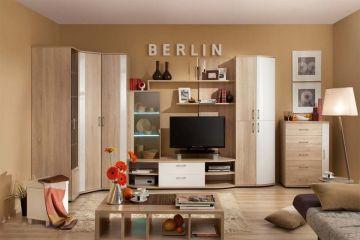 Гостиная Berlin Белый глянец