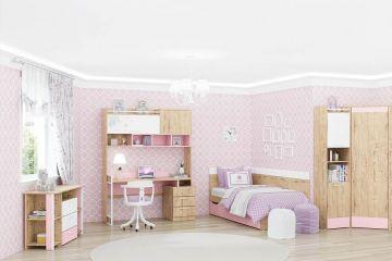 Детский гарнитур Дублин розовый