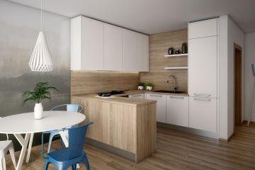 Кухня из ЛДСП Aurora 17