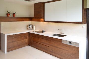 Угловая кухня из ЛДСП Aurora 8