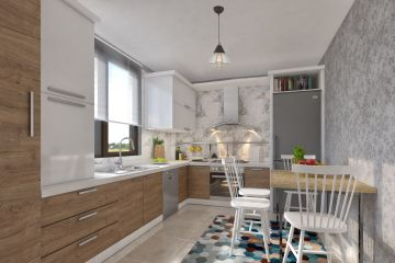 Угловая кухня из Cleaf Marta 21