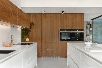 Кухня из шпона Oskar 2