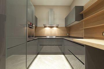Кухня из акрила Ostin 8
