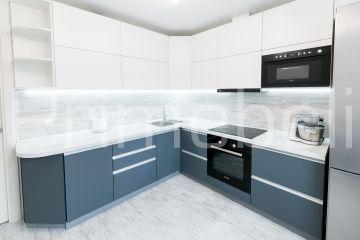 Кухня угловая из крашеного МДФ Vesta 35