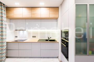 Кухня угловая из Fenix Savanna 29
