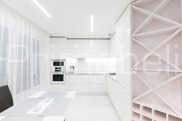 Кухня угловая из крашеного МДФ Vesta 36