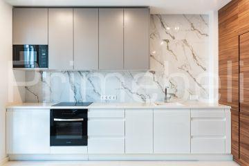 Кухня угловая из крашеного МДФ Vesta 38