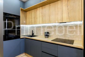 Кухня угловая из Fenix Savanna 35