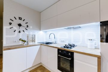 Кухня из крашеного МДФ Vesta 39