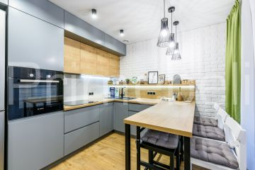 Кухня из крашеного МДФ Vesta 42
