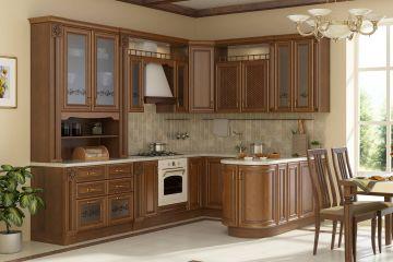 Кухня из массива Tiffany 10