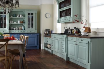 Угловая кухня из массива Tiffany 11