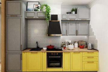 Кухня из массива Tiffany 27