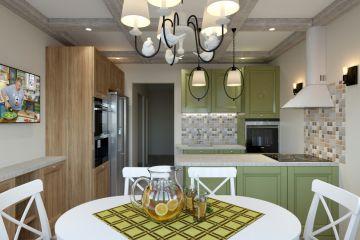 Кухня из массива Tiffany 28