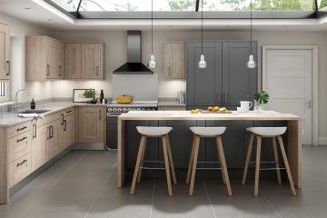 Угловая кухня из массива Tiffany 4