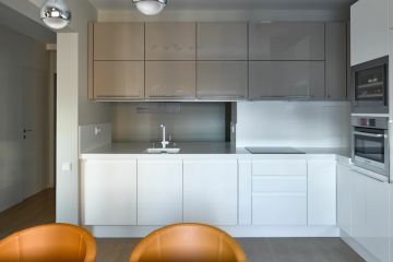 Кухня угловая из крашеного МДФ Vesta 11