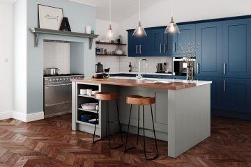 Кухня из крашеного МДФ Vesta 23