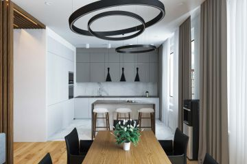 Кухня из крашеного МДФ Vesta 25