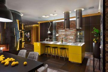 Кухня из крашеного МДФ Vesta 27