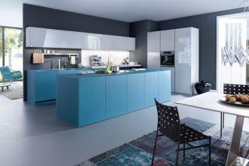 Кухня из крашеного МДФ Vesta 28