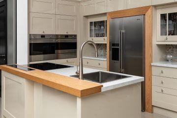 Кухня из крашеного МДФ Vesta 5