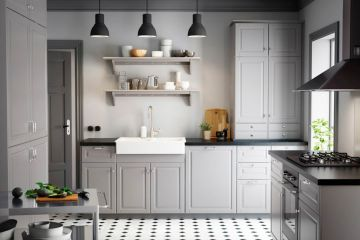 Кухня из крашеного МДФ Vesta 7
