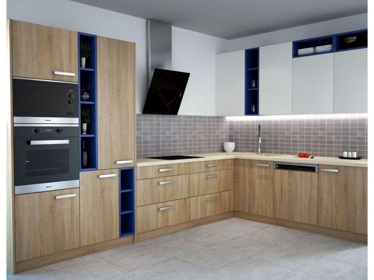 Кухня из ЛДСП угловая Aurora 1 - фото 2