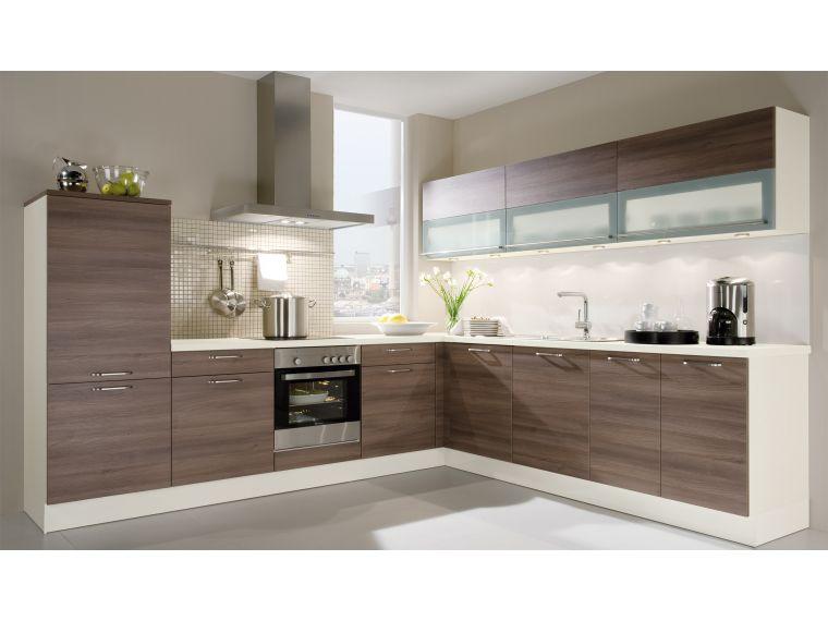 Кухня угловая из ЛДСП Aurora 2 - общий план