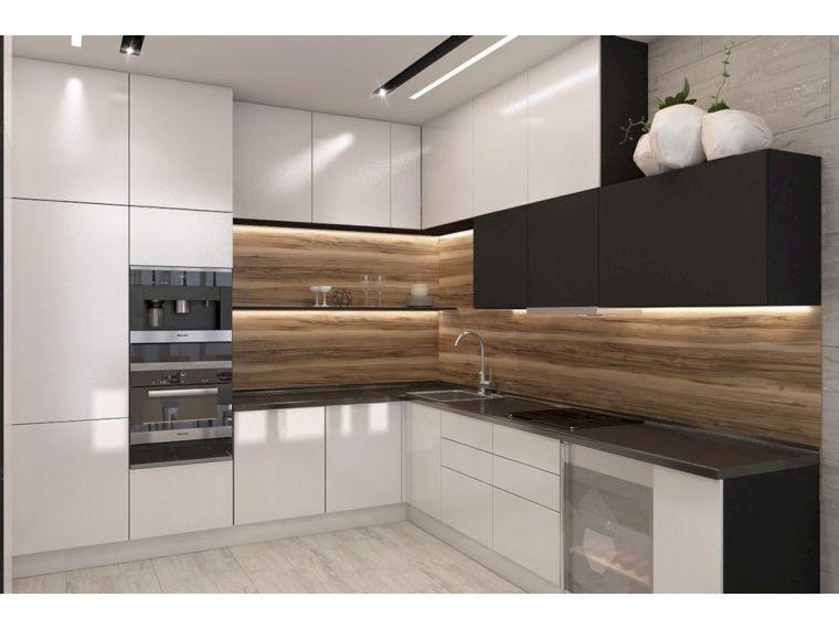 Угловая кухня Lora 1 - общий вид