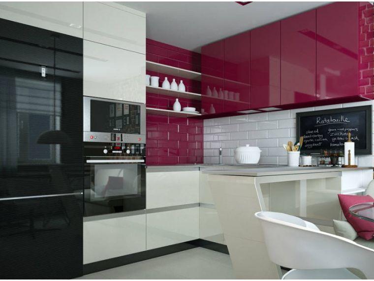 Кухня из акрила Ostin 23 - фото 2