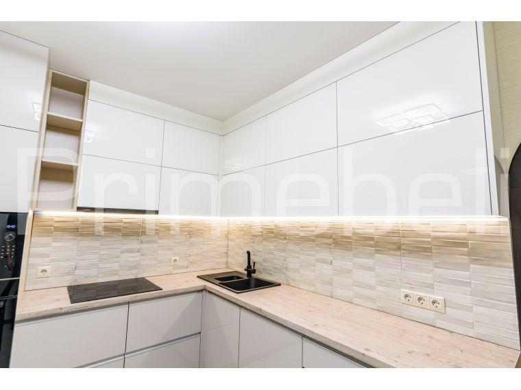 Кухня из акрила угловая Ostin 29 - фото 4