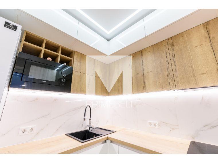 Кухня из акрила Ostin 32 угловая - фото 2