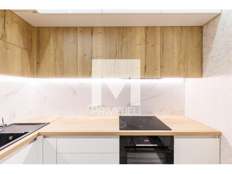 Кухня из акрила Ostin 32 угловая - фото 4