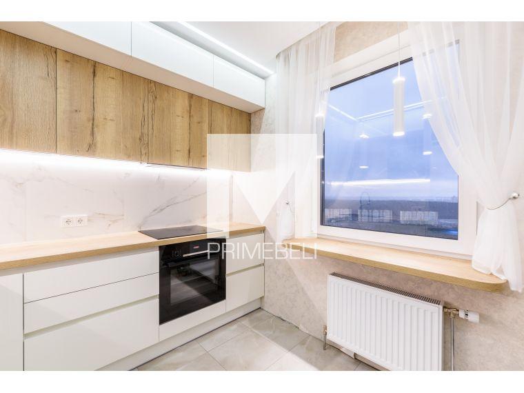 Кухня из акрила Ostin 32 угловая - фото 5