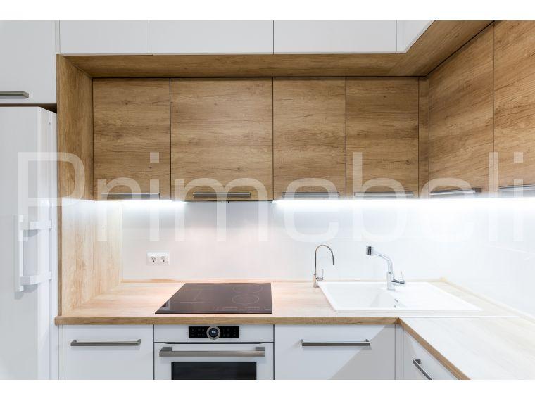 Кухня из акрила Ostin 28 угловая - фото 3