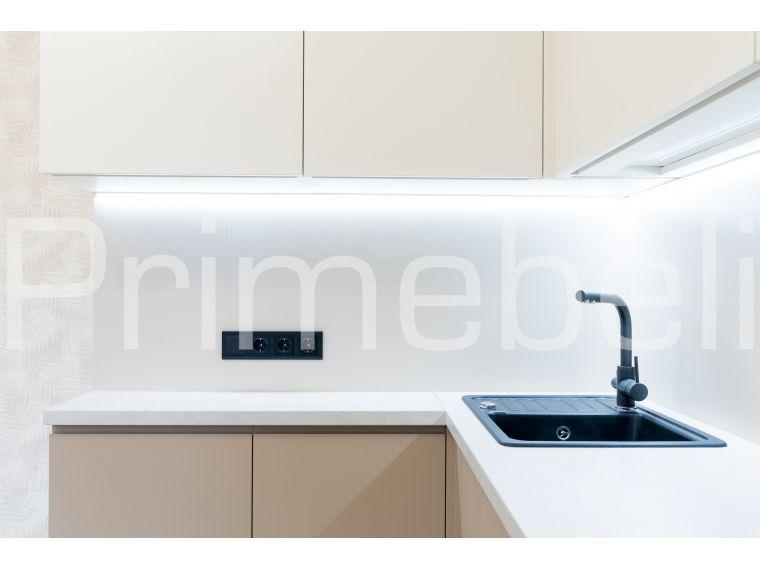 Угловая кухня из крашеного МДФ Vesta 33, вид с разных точек - фото 4