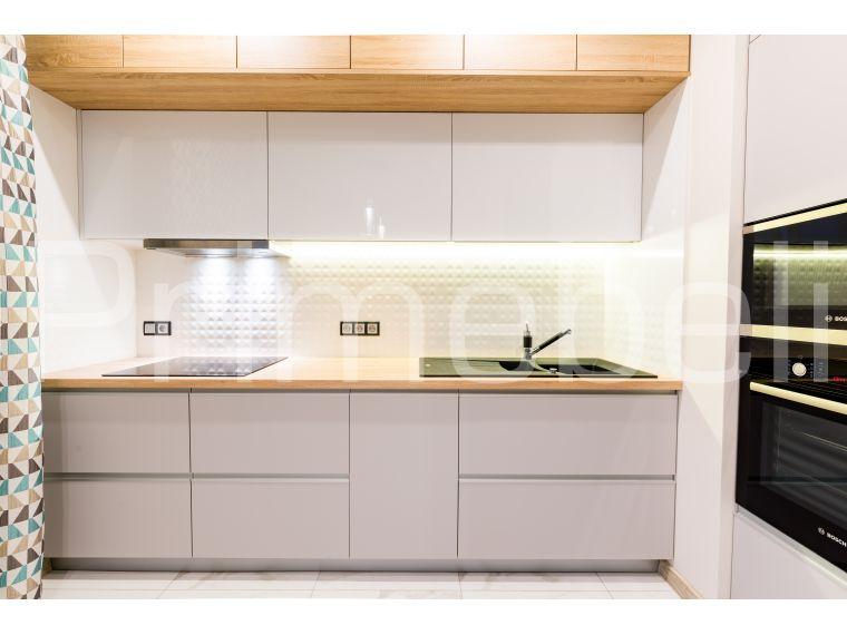 Кухня угловая из Fenix Savanna 29 - фото 4
