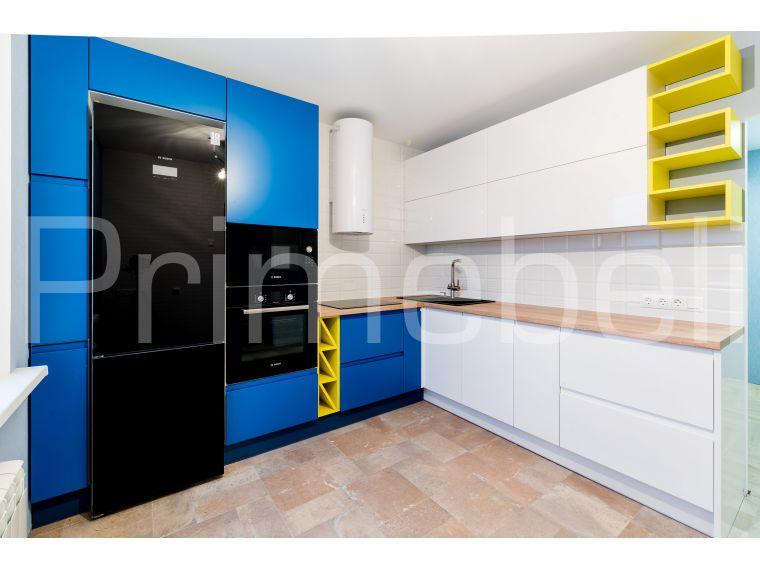 Угловая кухня из крашеного МДФ Vesta 29 - фото 1