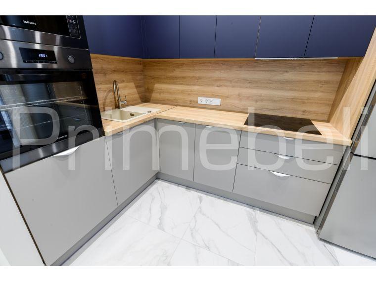 Кухня угловая из Fenix Savanna 34 - фото 2