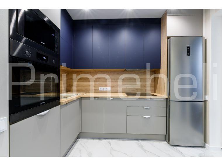 Кухня угловая из Fenix Savanna 34 - фото 3