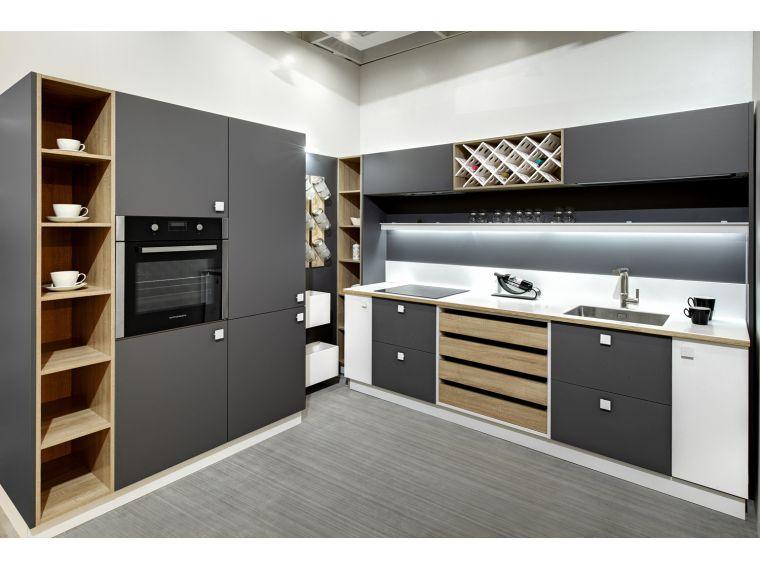 Кухня угловая из Fenix Savanna 11 - фото 1