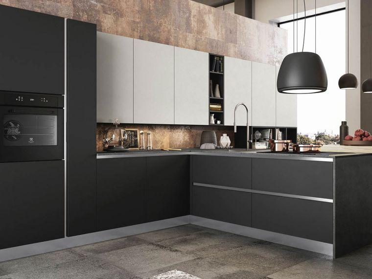 Угловая кухня из Fenix Savanna 13 - фото 1