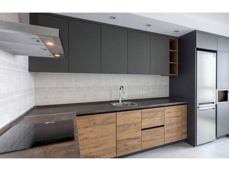 Угловая кухня из Fenix Savanna 8 - фото 2