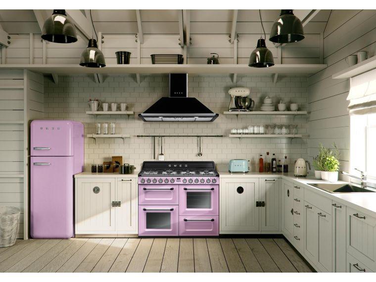 Современная угловая кухня из массива Tiffany 21