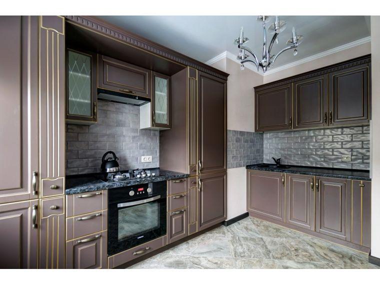 Угловая кухня из массива Tiffany 7 под заказ
