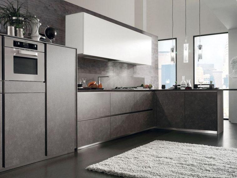 Кухня угловая с фасадом из Syncron Verdi 11