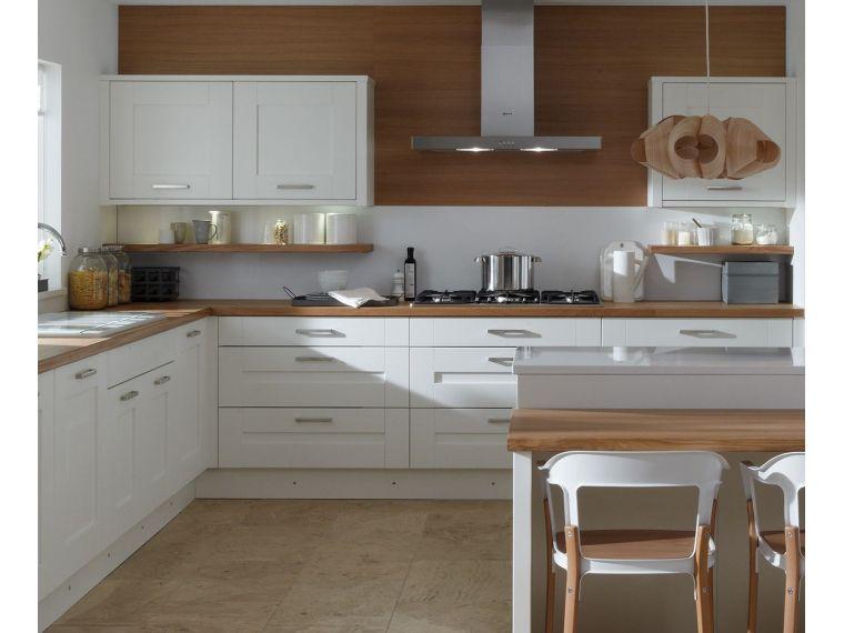 Кухня из крашеного МДФ Vesta 22 угловая - фото 2