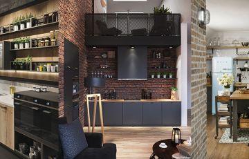 Разные стили и цвета кухонь